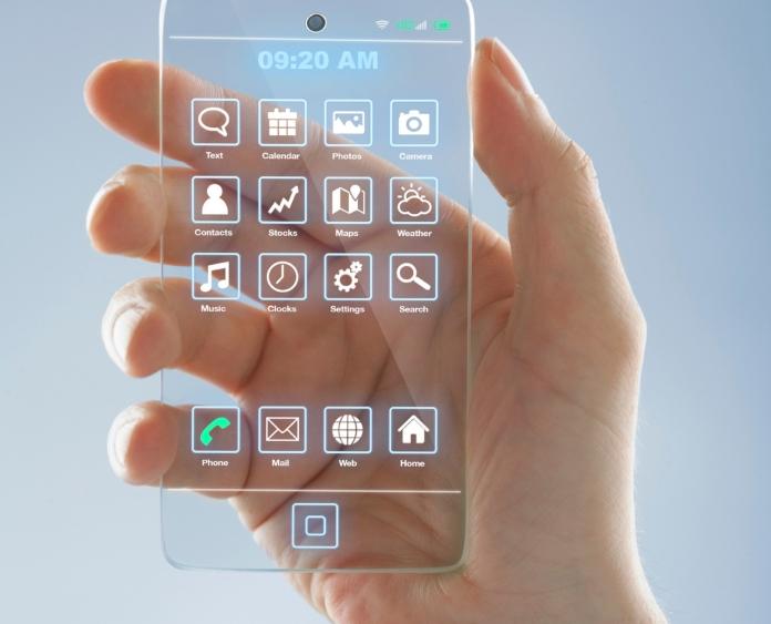 Futuristic Mobile Phone